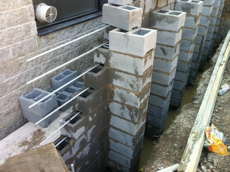 Blockwork Retaining Wall Avalon Constructions